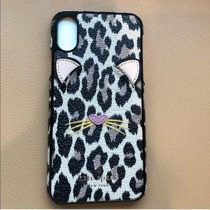 Kate Spade Leopard iPhone X Case